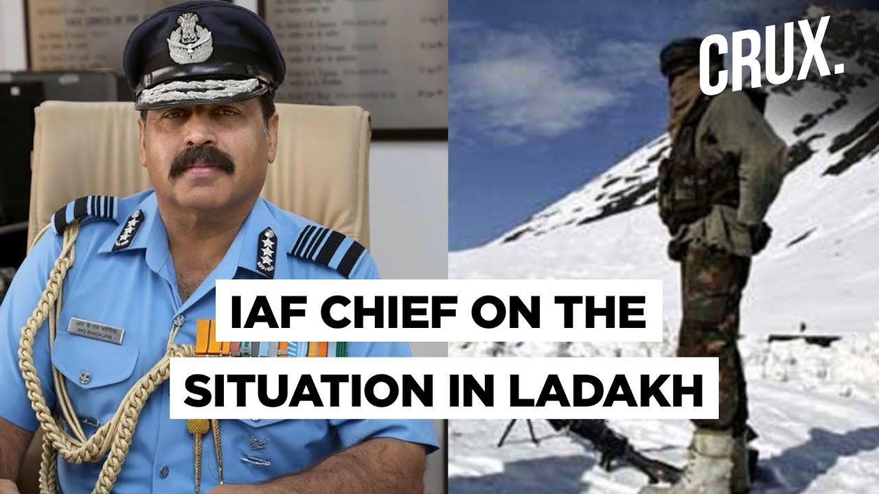 'No War No Peace Status At The Northern Frontier,' Says IAF Chief RKS Bhadauria