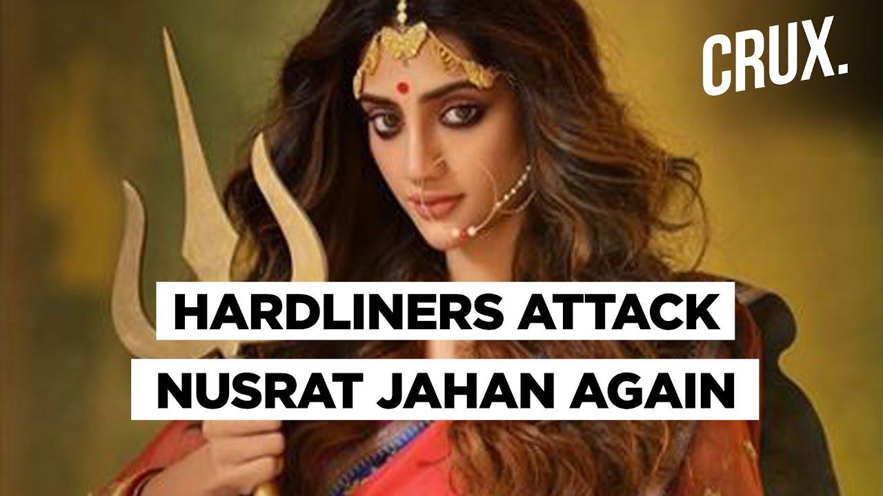 TMC MP & Actor Nusrat Jahan Receives Death Threats For Durga Photoshoot