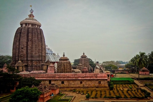 File photo of Lord Jagannath temple in Puri.