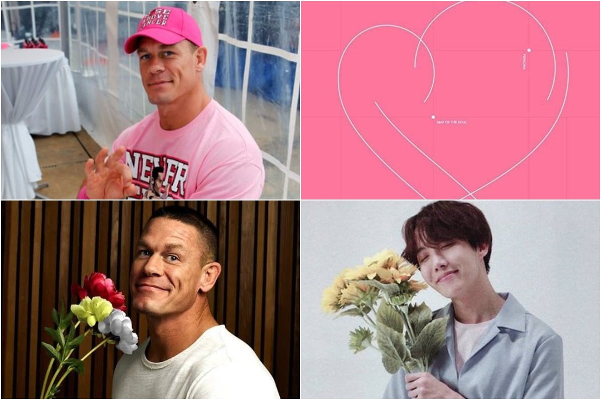 Twitter Thread on John Cena as BTS Album Covers Proves WWE Star is a Natural Army Member
