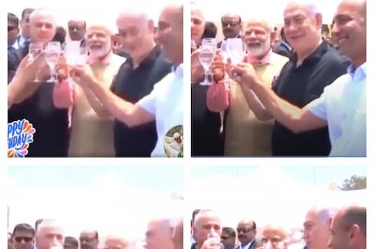 Photographs being wrongly attributed to PM Modi's birthday celebration this year.