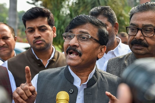 Shiv Sena MP Sanjay Raut. (File photo: PTI)