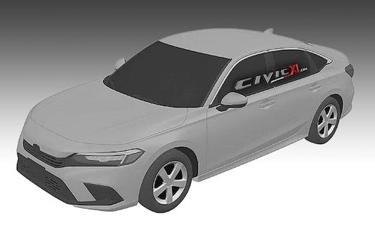 2021 Honda Civic patent images have surfaced online. (Image Courtesy: Civicxi)