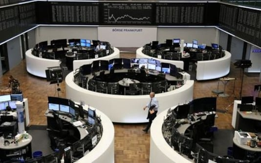 Shares Rack Up Records, Dollar Gains Ground