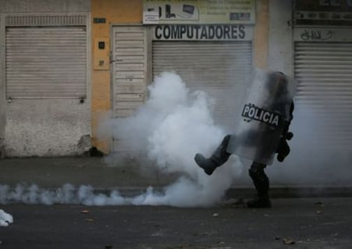 Seven Dead In Colombian Protests Against Police Brutality
