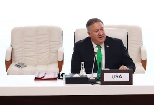 AFGHANISTAN-TALIBAN-TALKS-POMPEO:U.S. Secretary of State says up to Afghans to determine political system during peace talks