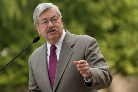 U.S. Ambassador To China Branstad To Retire Next Month