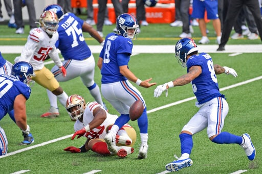 Despite 0-3 Start, Giants A Game Out In Woeful NFC East