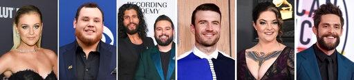 Thomas Rhett, Kelsea Ballerini, Luke Combs Top CMT Noms