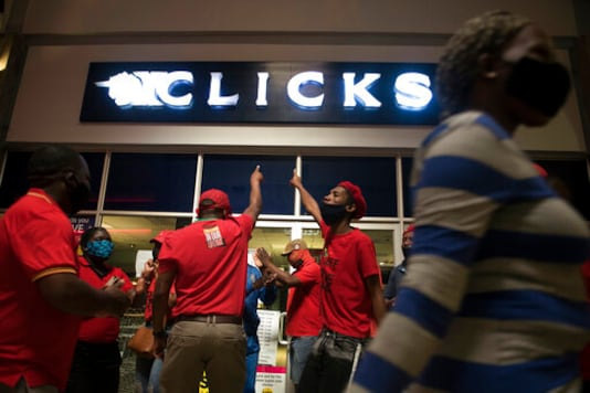 South African Protesters Close Stores Over Offensive Ad