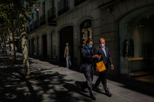 Standoff Over Madrid's Response To Virus Pandemic Continues