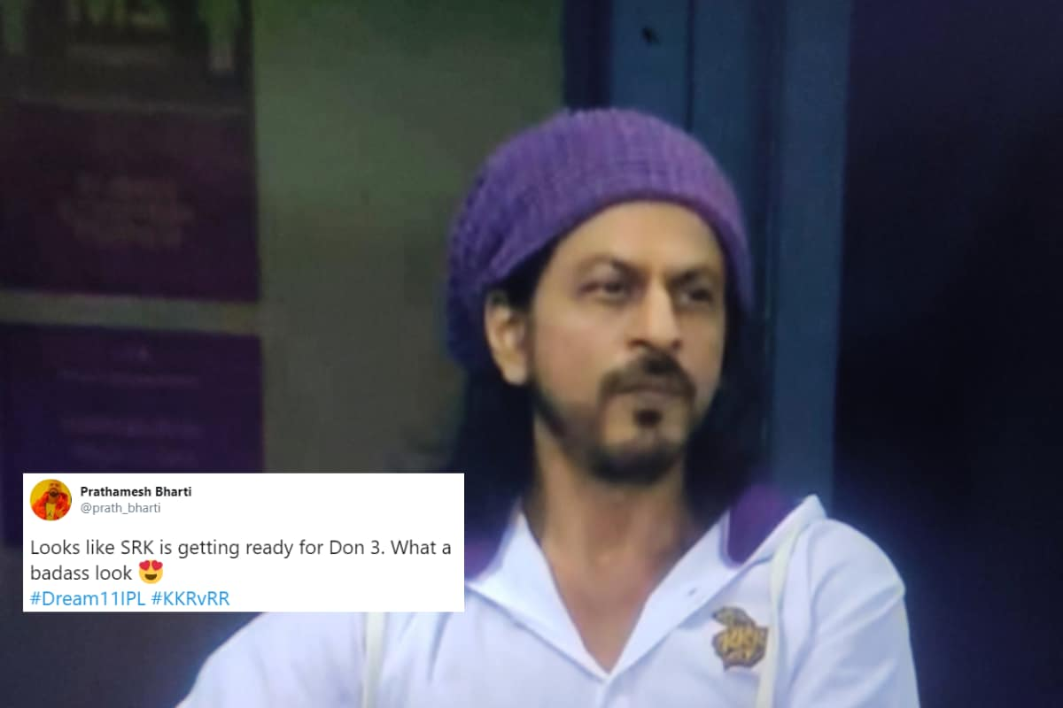 'Ready For Don 3': Shah Rukh Khan's New Look During Kolkata Knight Riders' IPL Match Goes Viral