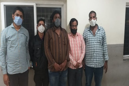 The police also arrested managers Sunil Kumar, Pradeep, auditors Santosh and Sivanath and a car, a two-wheeler and real estate documents were seized from them. (ANI Image)