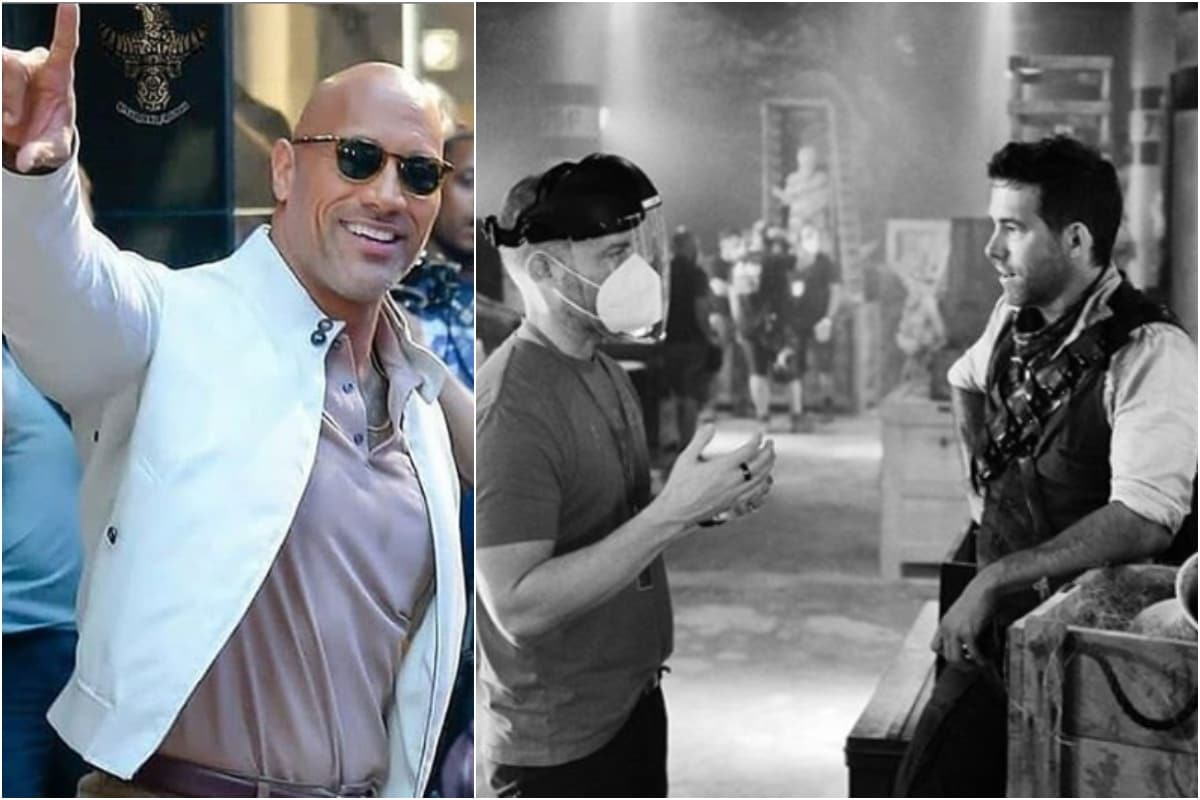 Ryan Reynolds Visualises Dwayne Johnson with Bangs and Fans' Imagination Run Wild
