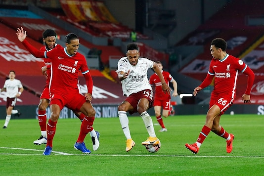 Liverpool and Arsenal face off in the Carabao Cup. (Photo Credit: Reuters)