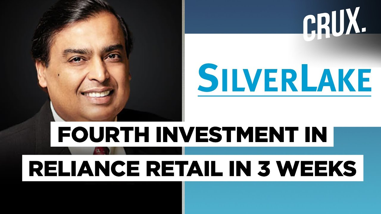Silver Lake's Co-investors To Invest Additional Rs 18.75 Billion In Reliance Retail