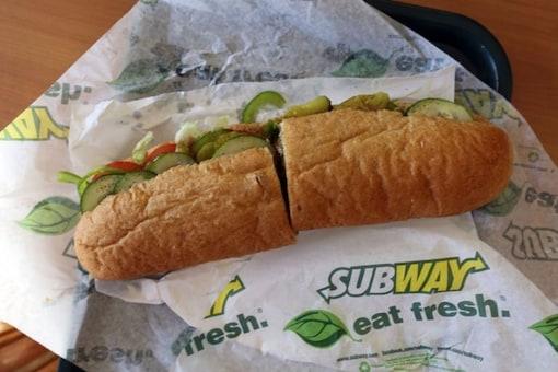 Subway bread.  (Credit: Twitter/ AJ+)