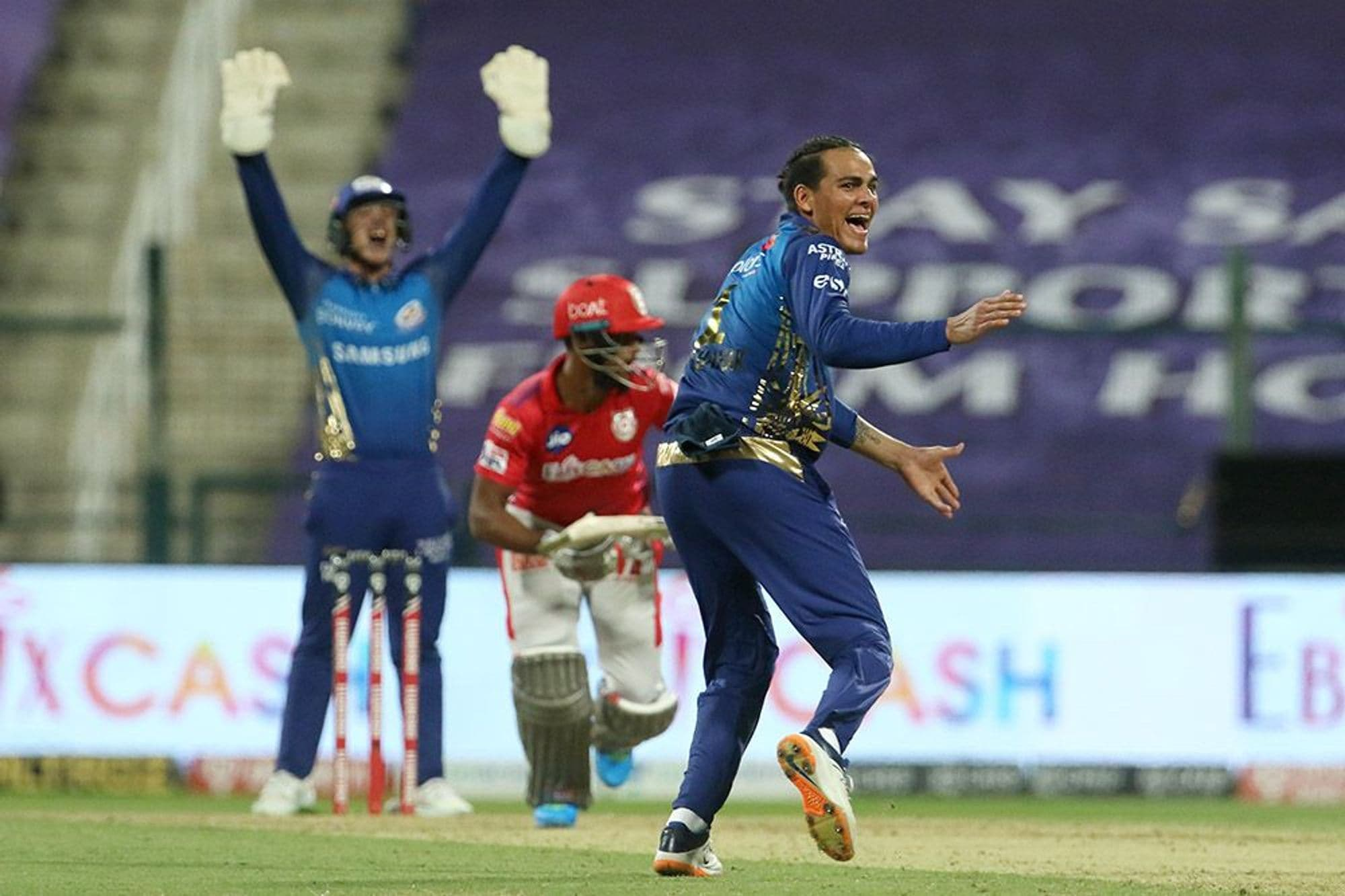 IPL 2020: In Pics, Kings XI Punjab vs Mumbai Indians, Match 13 at Abu Dhabi