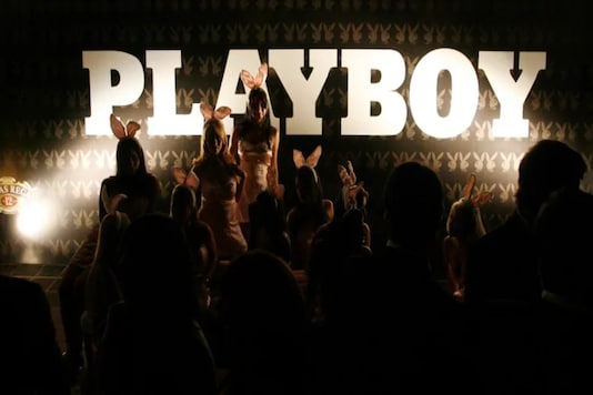 Playboy consistently drew criticism for objectifying women with its erotic photography, but its supporters claimed the breaking of taboos also had a liberating effect. Its founder Hugh Hefner died in 2017. (Reuters)