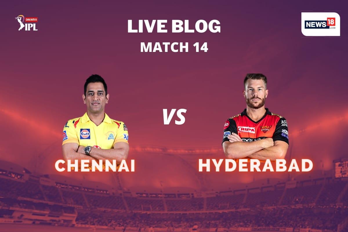 IPL 2020 LIVE Score, CSK vs SRH Today's Match at Dubai: SRH Win by 7 Runs, Third Straight Loss for CSK