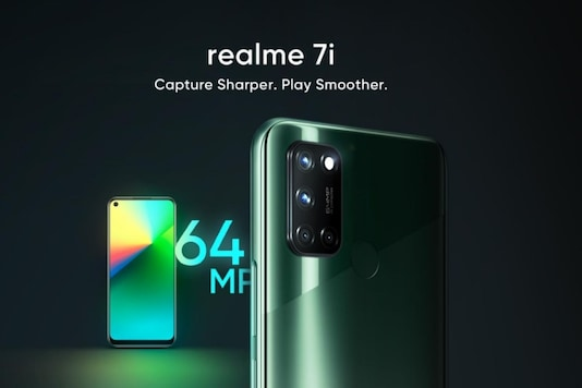 Realme 7i launch on October 7. (Image Credit: Realme)