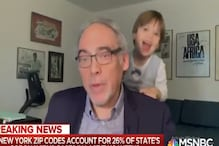 US Expert Getting Interrupted by Grandson While on Live TV Sums up Work From Home in 2020