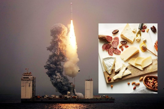 Space food | Image credit: Reuters/Twitter