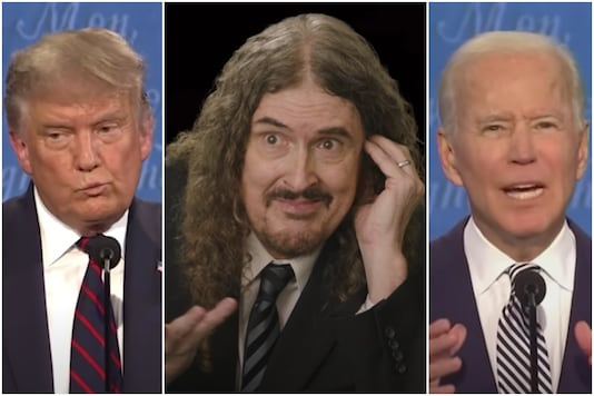 'Weird Al' Yankovic puts a parody spin on the US 2020 Presidential Debate between Trump and  Biden | Image credit: YouTube