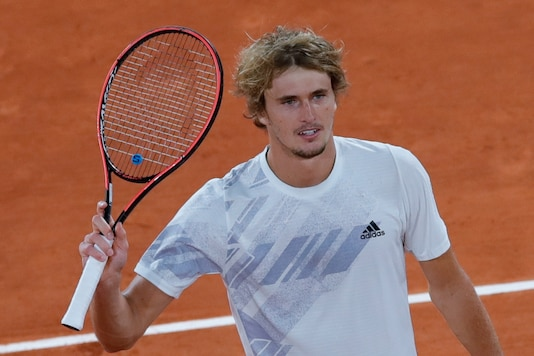 Alexander Zverev moved into French Open last 16. (Photo Credit: AP)