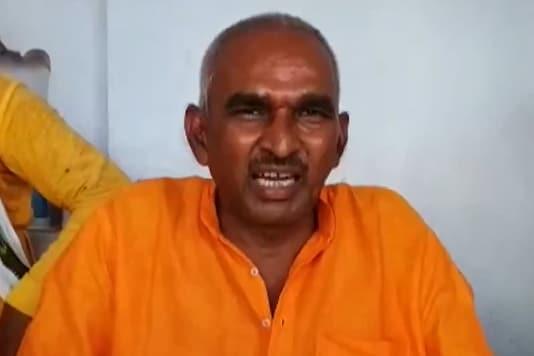 BJP MLA Surendra Singh. (Videograb: Twitter/ANI)