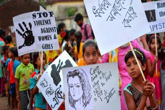 Around 1,000 activists of the Left and the Congress on Saturday protested in Kolkata against the alleged gang rape in Hathras that has triggered a nationwide outrage. (Representational Image: PTI)