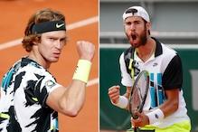 French Open: Russians Andrey Rublev, Karen Khachanov Through to Fourth Round