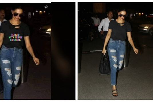 Fact Check: Did Deepika Padukone Wear a T-Shirt with Slogan in Support of Farmers?