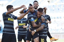 Serie A: Inter Milan Drops 1st Points in 1-1 Draw at Lazio