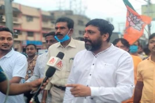 File photo of BJP leader Manish Shukla