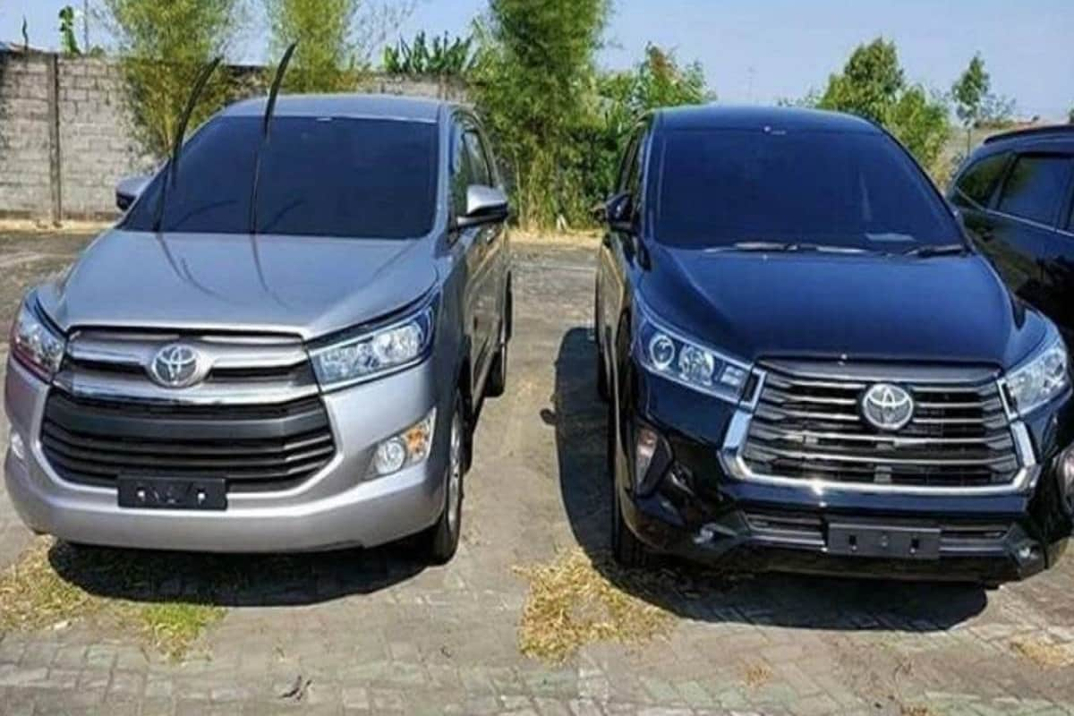 Upcoming Toyota Innova Facelift Image With Design Changes Leaked India Launch Likely In 2021