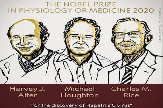 Harvey J Alter, Michael Houghton and Charles M. Rice win Nobel medicine prize for the discovery of Hepatitis C virus (Photo:@NobelPrize/Twitter)
