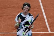 French Open: Andrey Rublev Overcomes Marton Fucsovics to Reach Quarter-finals