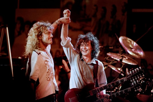 'Stairway to Heaven' is one of the biggest hits by iconic Jimmy Page and Robert Plant-led rock band Led Zeppelin | Image credit: Reuters