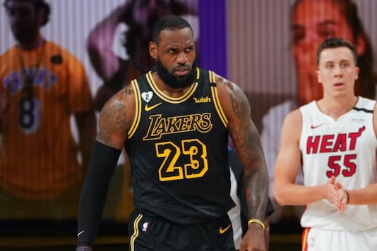 Los Angeles Lakers and Miami Heat (Photo Credit: Twitter)