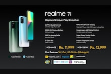 Realme 7i Launched Alongside New SLED 4K TV, Active Noise Cancelling TWS Earphones and More