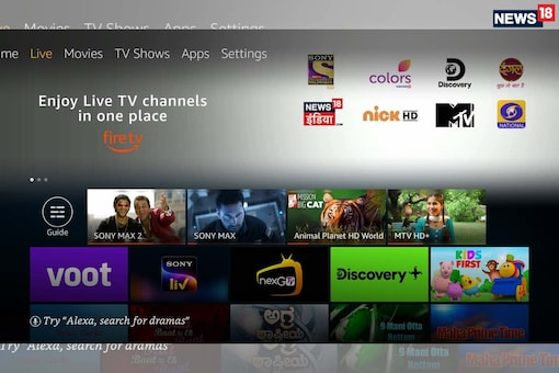 Live TV Is Now Available On The Amazon Fire TV In India: This Is How To Set It Up And Watch