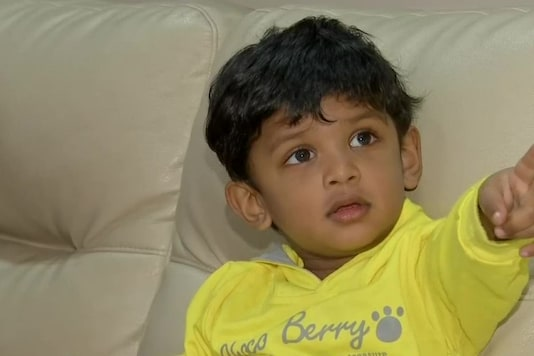 Aadith Vishwanath Gourishetty of Hyderabad makes it to World Book of Record & four other record books for having a sharp memory.  (Credit: ANI)