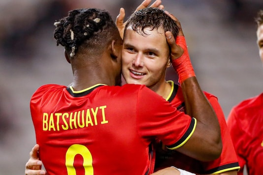 Belgium's Michy Batshuayi  (Photo Credit: Twitter)
