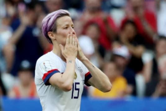 Megan Rapinoe (Photo Credit: Reuters)