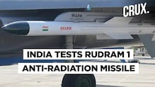 What Is Rudram 1 And How Can It Help IAF Gain A Tactical Advantage Over The Enemy Forces?