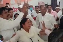 Cong Expels Duo for Roughing Up Party Worker Who Opposed Bypoll Ticket to 'Rapist' in UP; NCW Steps In