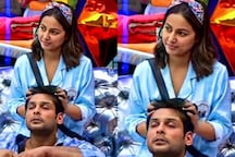 Bigg Boss 14: Hina Khan Gives Head Massage to Sidharth Shukla, Fans Call Them 'SidHina'