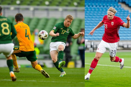 Ireland and Wales, Erling Haaland (Photo Credit: Twitter)