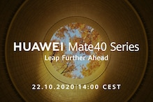 Huawei Will Debut Its Mate 40 Smartphones on October 22